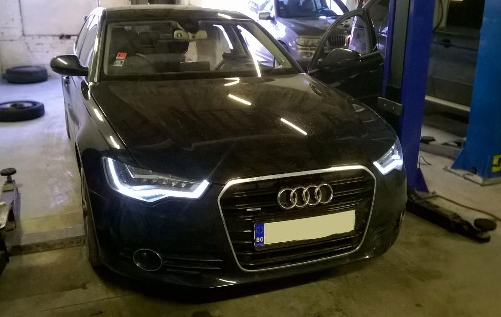 Audi A6 въздушни възглавници