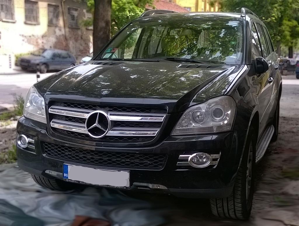 Mercedes GL въздушно окачване