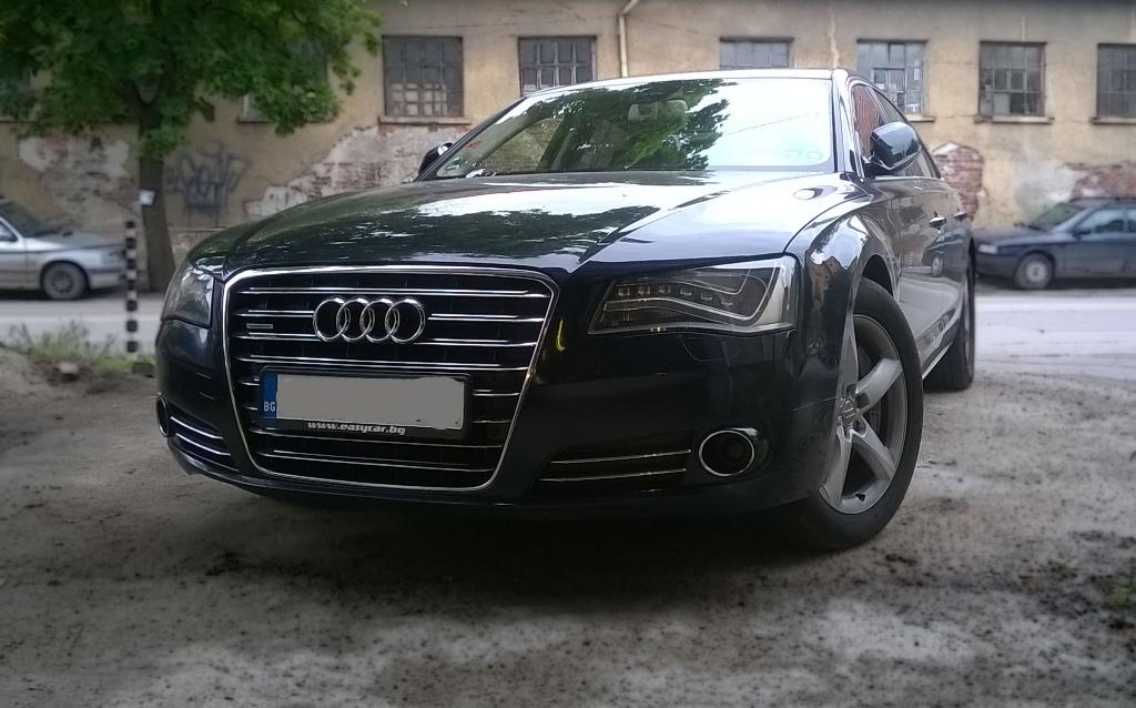 Audi A8 Air Suspension