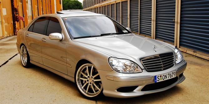 Въздушно окачване – Mercedes S class W220