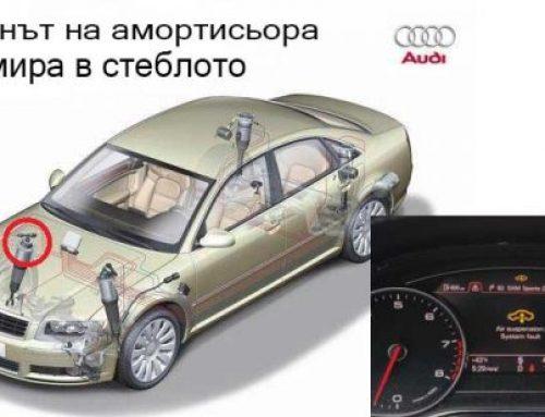 Въздушните възглавници в окачването на Audi A8
