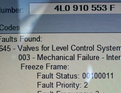 Грешка Valves Level Control System